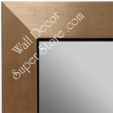 MR1494-3 Brushed Bronze With Black - Large Custom Wall Mirror Custom Floor Mirror