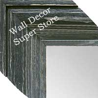 MR1547-5 Distressed Black Driftwood - Extra Extra Large Custom Wall Mirror Custom Floor Mirror
