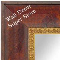 MR1606-1 VENETIAN COGNAC  CUSTOM MIRROR