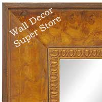 MR1606-3 Honey Pecan  Custom Mirror