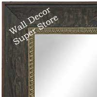 MR1607-2   Ebony Olive  Custom Mirror