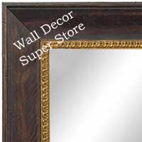 MR1607-4   Coffee  Custom Mirror
