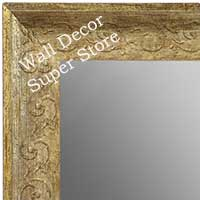 MR1614-3  Distressed Silver Custom Wall Mirror