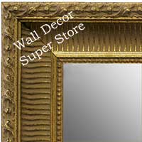 MR1626-2 | Gold | Custom Wall Mirror | Decorative Framed Mirrors | Wall D�cor