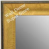 MR1662-1 | Crackle Gold / Black | Custom Wall Mirror