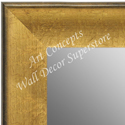 MR1664-1 | Crackle Gold / Black | Custom Wall Mirror