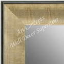 MR1664-2 | Crackle Silver / Black | Custom Wall Mirror