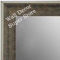 MR1670-1 | Distressed Dark Brown | Custom Wall Mirror