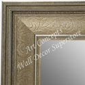 MR1678-2 | Silver / Design | Custom Wall Mirror