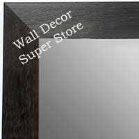 MR1682-1 | Black / Walnut | Custom Wall Mirror