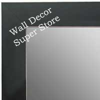 MR1688-1 | Black / Flat Moulding | Custom Wall Mirror