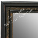 MR1696-2 | Distressed Black | Custom Wall Mirror | Decorative Framed Mirrors | Wall D�cor