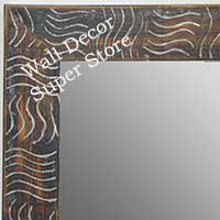 MR1702-1 | Silver / Design | Custom Wall Mirror | Decorative Framed Mirrors | Wall D�cor