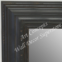 MR1704-1 | Distressed Black | Custom Wall Mirror | Decorative Framed Mirrors | Wall D�cor