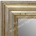 MR1705-4 | Distressed Silver | Custom Wall Mirror | Decorative Framed Mirrors | Wall D�cor