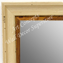 MR1706-2 | Distressed White Scoop Moulding | Custom Wall Mirror | Decorative Framed Mirrors | Wall D�cor