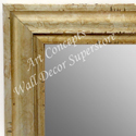 MR1706-4 | Distressed Silver Scoop Moulding | Custom Wall Mirror | Decorative Framed Mirrors | Wall D�cor
