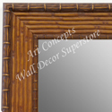 MR1710-1 | Pecan Rattan | Custom Wall Mirror | Decorative Framed Mirrors | Wall D�cor