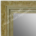MR1721-4 | Distressed Green / Silver | Custom Wall Mirror | Decorative Framed Mirrors | Wall D�cor
