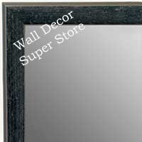 MR1735-5 | Distressed Black Granite | Custom Wall Mirror | Decorative Framed Mirrors | Wall D�cor
