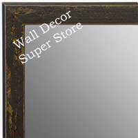 MR1735-7 | Distressed Saddle Brown | Custom Wall Mirror | Decorative Framed Mirrors | Wall D�cor