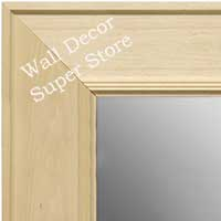 MR1751-2 Unfinished Natural Wood 4.0 Inch Frame - Paint or Stain - Extra Extra Large Custom Wall Mir