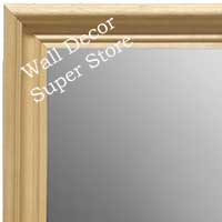 MR1753-1 | Unfinished Wood Frame | Unfinished Natural Wood Moulding - Paint or Stain | Custom Wall Mirror