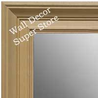 MR1754-1 | Unfinished Wood Frame | Unfinished Natural Wood Moulding - Paint or Stain | Custom Wall Mirror