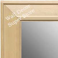 MR1758-1 | Unfinished Wood Frame | Unfinished Natural Wood Moulding - Paint or Stain | Custom Wall Mirror