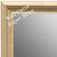 MR1762-1 | Unfinished Wood Frame | Unfinished Natural Wood Moulding - Paint or Stain | Custom Wall Mirror