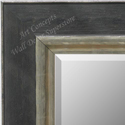 MR1765-1 | Distressed Black / Silver | Custom Wall Mirror | Decorative Framed Mirrors | Wall D�cor