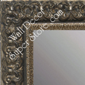 MR1769-2 | Silver Leaf / Ornate | Custom Wall Mirror | Decorative Framed Mirrors | Wall D�cor