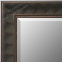 MR1780-1 | Distressed Bronze / Design | Custom Wall Mirror | Decorative Framed Mirrors | Wall D�cor
