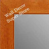 MR1845-2 Honey Maple- Value Price  - Medium Custom Wall Mirror Custom Floor Mirror