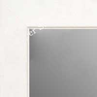MR1845-8 Matte White - Value Price - Medium Custom Wall Mirror Custom Floor Mirror