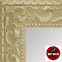 MR1862-5 Ornate Antique White - Value Priced - Large Custom Wall Mirror Custom Floor Mirror