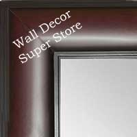MR1869-1 Cherry Mahogany - Value Priced - Extra Large Custom Wall Mirror Custom Floor Mirror