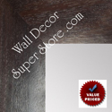 MR1872-2 Distressed Espresso Brown - Value Priced - Extra Large Custom Wall Mirror Custom Floor Mirror