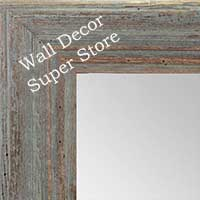 MR1880-3 Deep Distressed Grey Green - Large Custom Wall Mirror Custom Floor Mirror