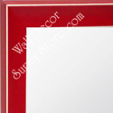 MR210-4  Red - Small Custom Wall Mirror