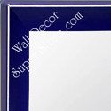 MR210-7  Blue - Small Custom Wall Mirror