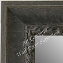 MR5210-2 Charcoal Grey Distressed Scoop - Extra Extra Large Custom Wall Mirror Custom Floor Mirror