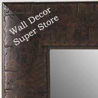 MR5211-2 Chestnut Brown  Distressed - Extra Large Custom Wall Mirror Custom Floor Mirror