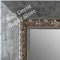 MR5234-2  Distressed Silver Leaf- Extra Extra Large Custom Wall Mirror Custom Floor Mirror