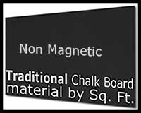 MT105 Traditional Chalk Board Material by the SQ FOOT