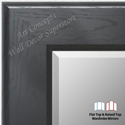 WM1776-3 | Black | Custom Three Panel Full Length Mirror