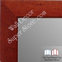 WM1845-3 Value Price - Cherry - Custom Three Panel Dressing Mirror
