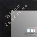 WM1845-6 Value Price -Charcoal Gray  - Custom Three Panel Dressing Mirror