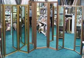 Flat Top Panel Mirror, Residential Dressing, Retail Dressing