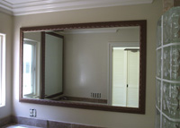 Custom Bathroom Mirrors Made To Your Size And Style.